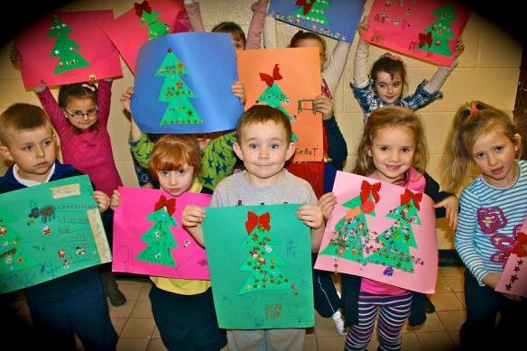 art junior xmas trees